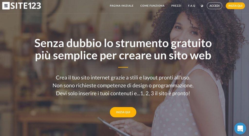 creare un sito web da solo